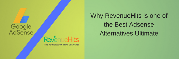 Why RevenueHits is one of the Best Adsense Alternatives Ultimate