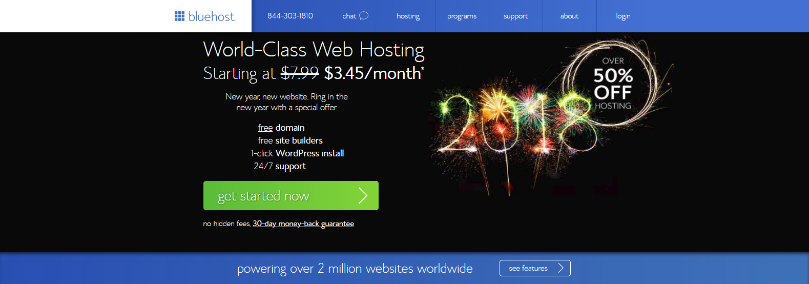 Best WordPress Hosting Providers Comparison & Reviews BlueHost Hosting Review - Best for Bloggers
