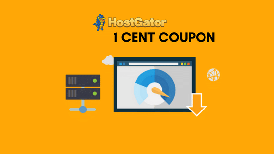 Hostgator 1 Cent Coupon (#Exclusive) only $0.01